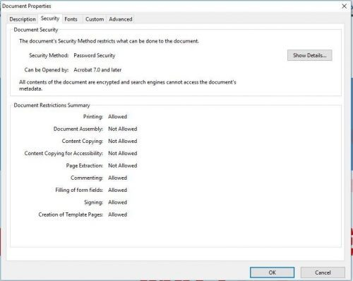 PDF Security Tools