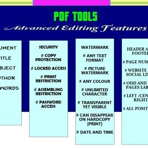 PDF Tools Unlock And Edit PDF files