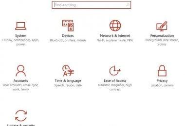 Windows 10 Internet Data
