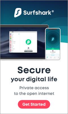 Surfshark VPN Ad 240 x 400